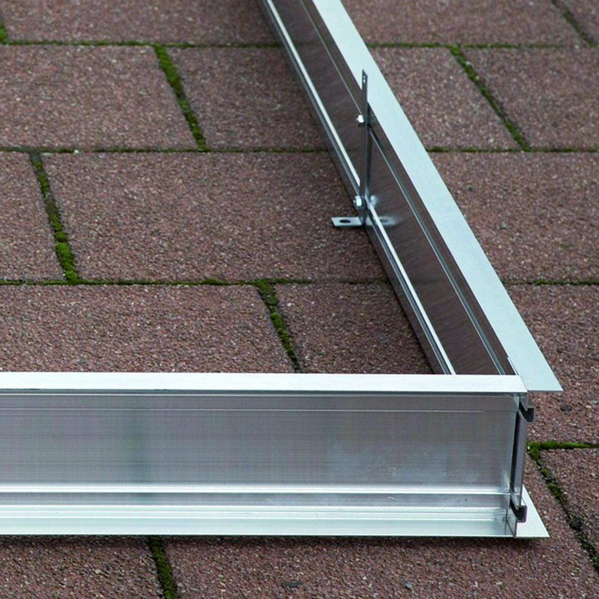 Aluminium Fundamentrahmen für Gewächshaus Typ F2-F6