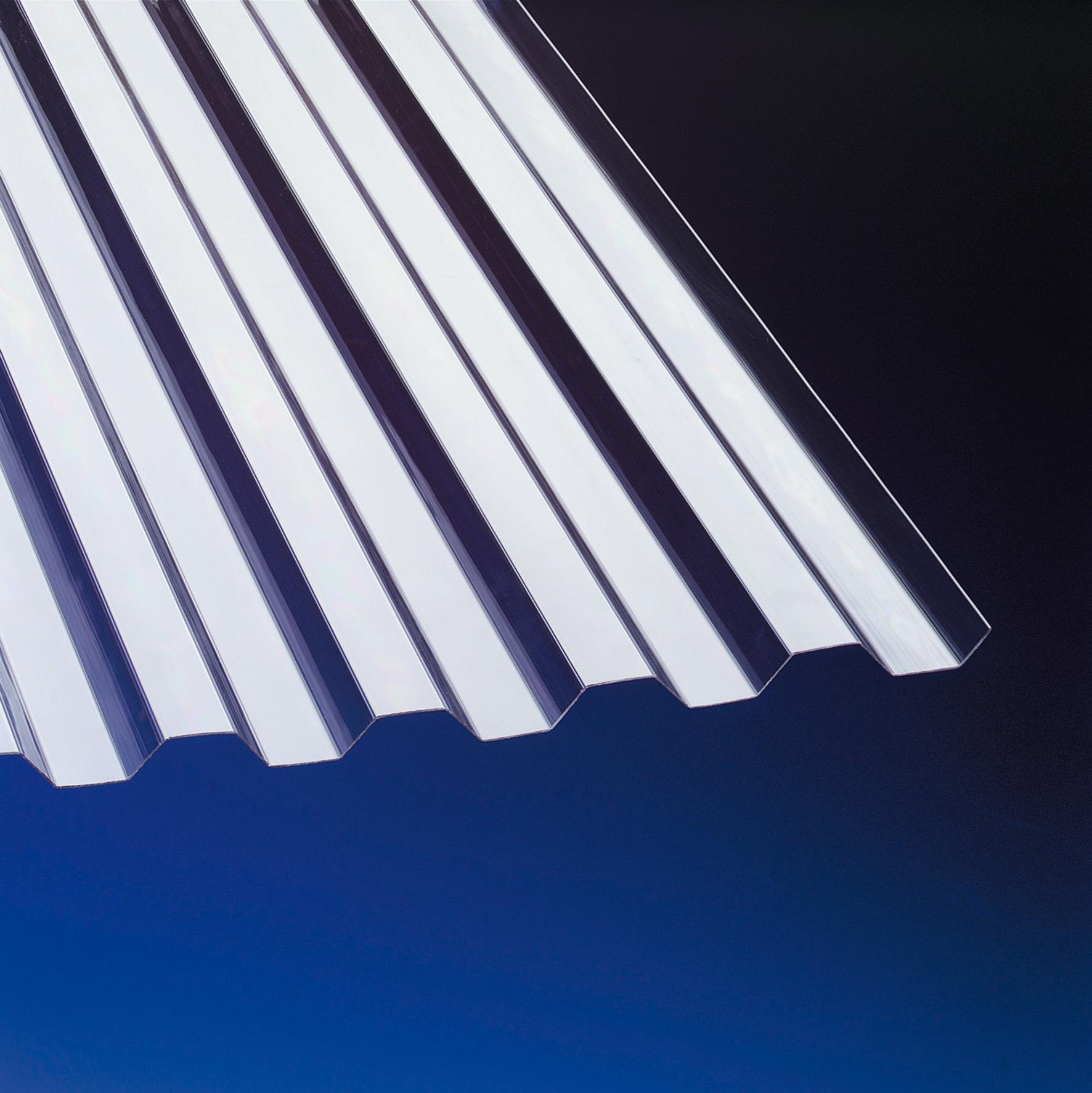 PVC Wellplatten Trapez 70/18 klar