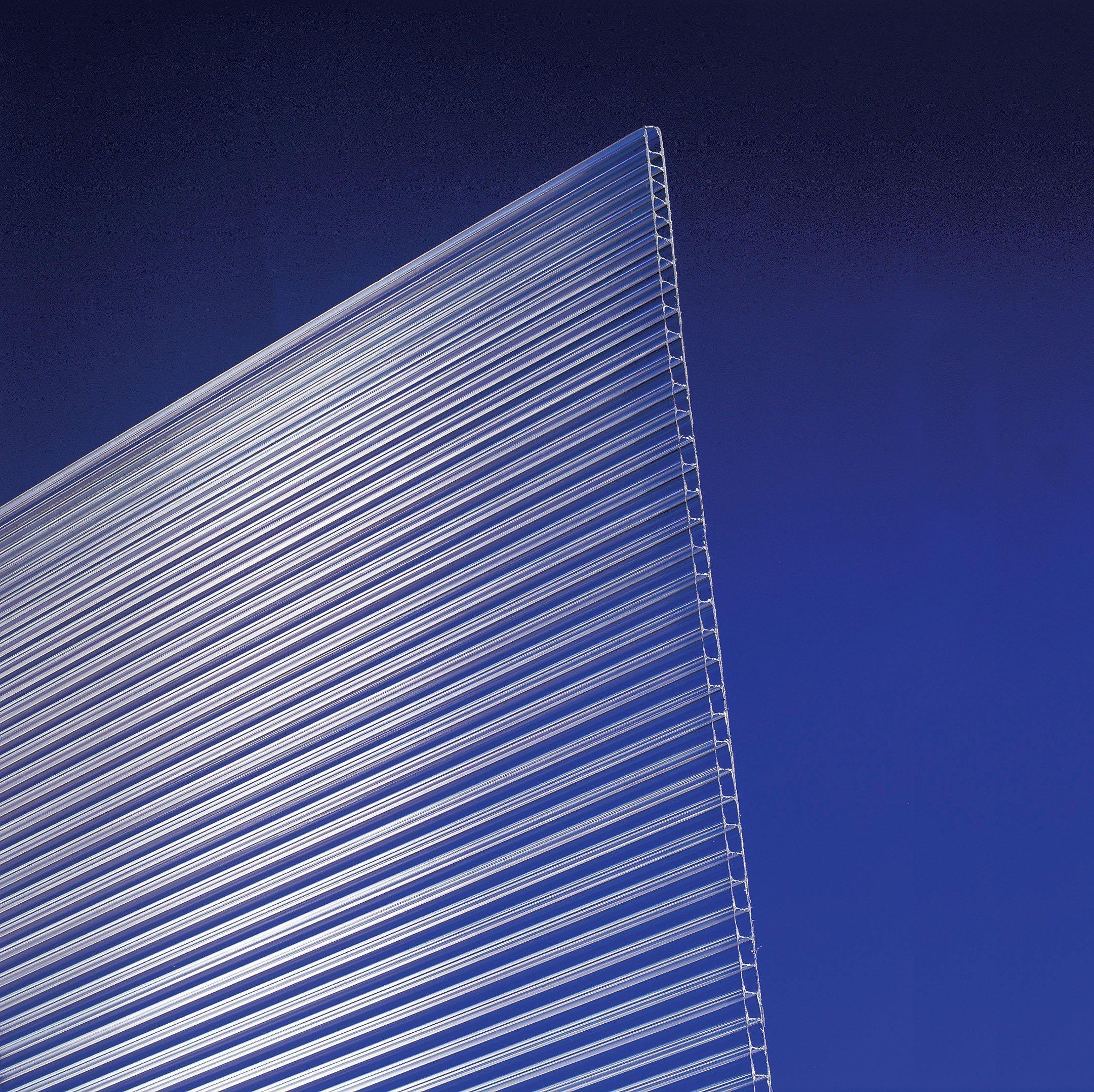 Polycarbonat Universal-Stegplatten 4,5 mm - 120 x 80 cm