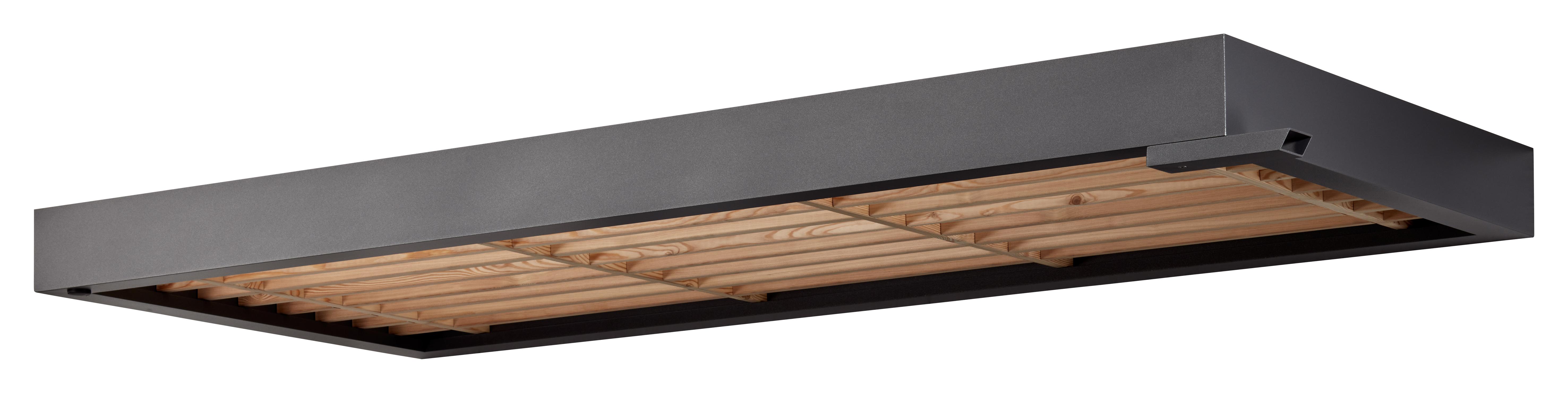 Gutta Rechteckvordach BS Timber mit Wasserspeier