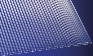 Polycarbonat Universal-Stegplatten 6 mm für Gewächshäuser 150 x 70 cm