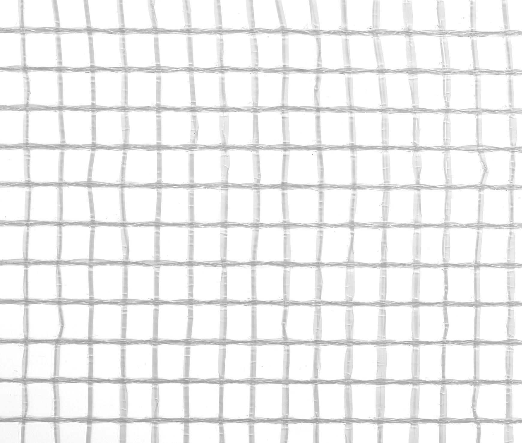 Gitterfolie weiß 1,5 x 50 m Rolle