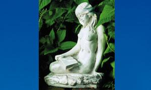 Skulptur Lettura 32 cm 9031
