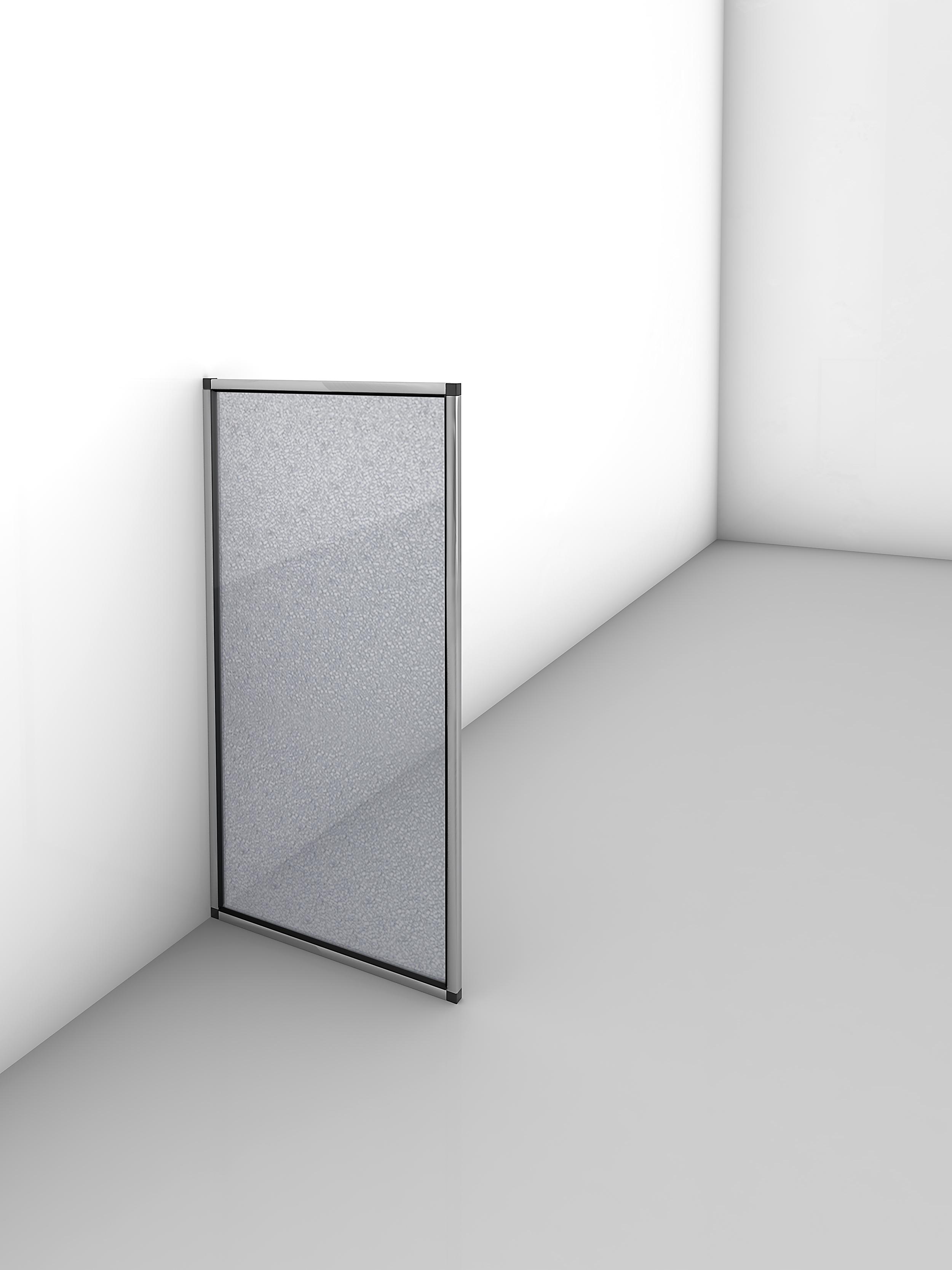 Gutta Trennwand - Hygienewand 500 x 1000 mm