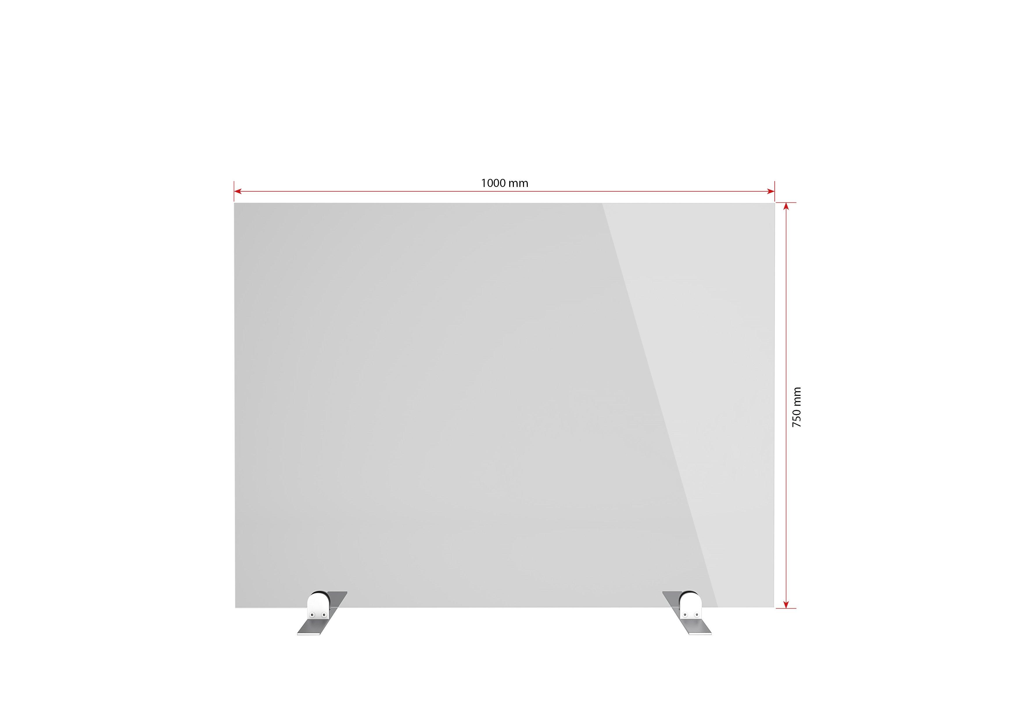 Gutta Spuckschutzwand Premium 1000 x 750 x 6 mm