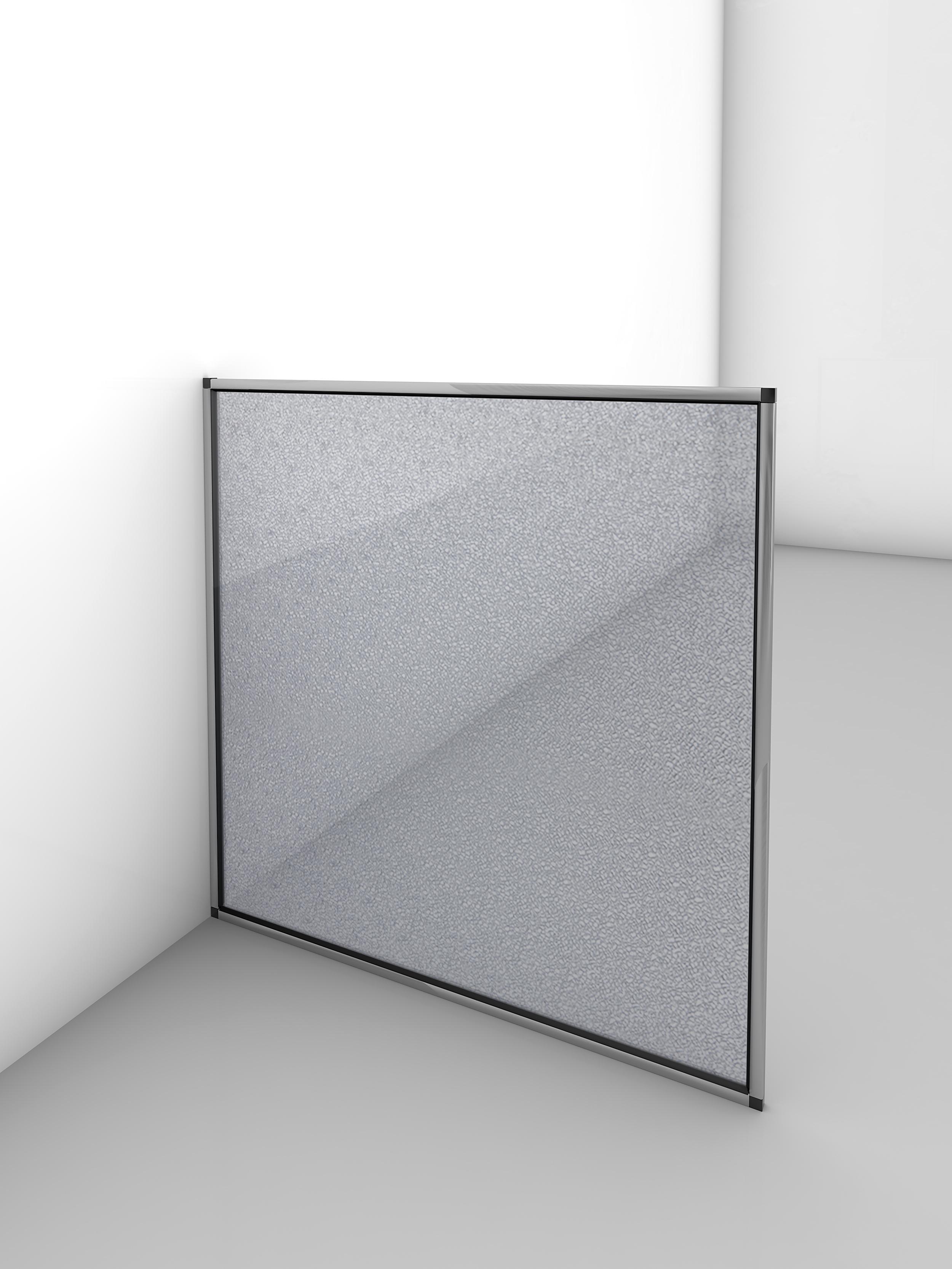 Gutta Trennwand - Hygienewand 1000 x 1000 mm